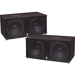 "YAMAHA SW218V Dual 18"" Club Series V Subwoofer Pair (KIT773228)"