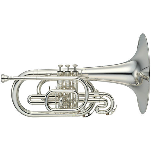 Yamaha YMP-204M Series Marching F Mellophone-thumbnail