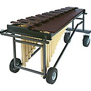 Yamaha YMT2400C Intermediate Acoustalon Marimba with Tough-Terrain Frame