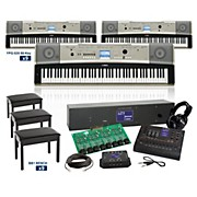 Yamaha YPG-535 88-Key Grand LC4 Keyboard Lab