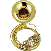 Yamaha YSH-411WC Series Brass BBb Lacquer Sousaphone with Hard Case