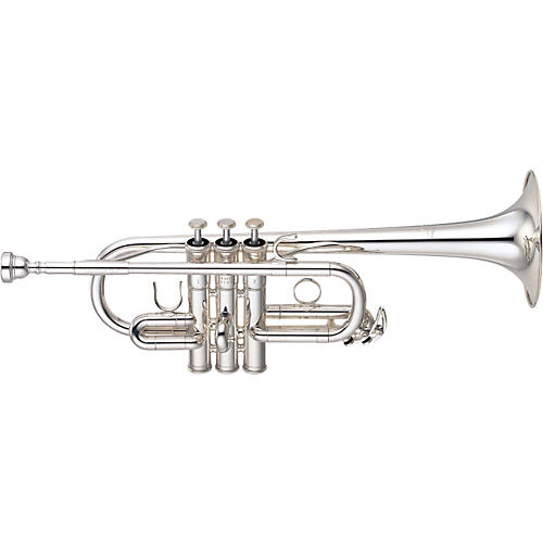 Yamaha YTR-6610S Series Eb/D Trumpet Silver