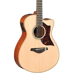 Yamaha A-Series All Solid Wood Concert Acoustic-Electric Guitar with SRT Preamp/Pickup (AC3M MF)