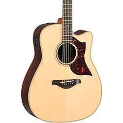Yamaha A-Series All Solid Wood Dreadnought Acoustic-Electric Guitar with SRT Preamp/Pickup (A3R MF)