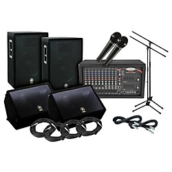 Yamaha A15 Harbinger PA/Monitor Package (A15 PA Monitor Package)