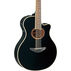 Yamaha APX700II-12 Thinline 12-String Cutaway Acoustic-Electric Guitar (APX700II-12 BL)
