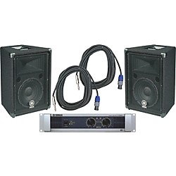 Yamaha BR10 / P2500S Speaker & Amp Package (KIT - 584983)