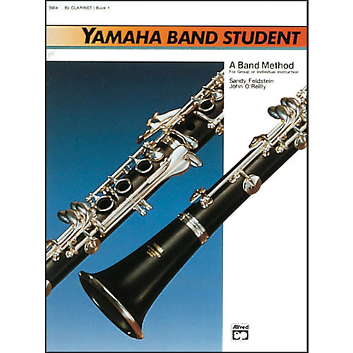 Alfred Yamaha Band Student Book 1 B-Flat Clarinet