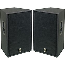 "Yamaha C115V 15"" 2-Way Club Speaker Pair (KIT773234)"