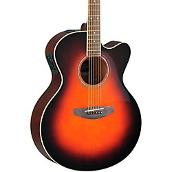 Yamaha CPX500II Medium-Jumbo Cutaway Acoustic-Electric Guitar (CPX500II OVS)