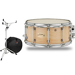 Yamaha Concert Series Maple Snare Drum with Stand and Free Bag (CSM-1465All-SSB)