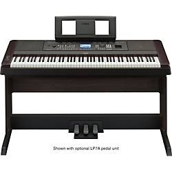 Yamaha DGX-650 88-Key Graded Hammer Action Digital Piano (DGX650B)
