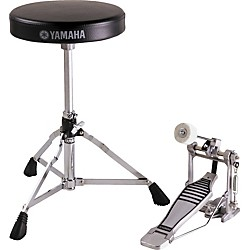 Yamaha Drummer's Bass Drum Pedal and Throne Package (FPDS2A)