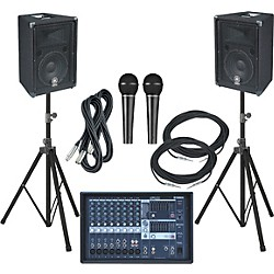 Yamaha EMX212S-BR10 PA Package (KIT773346)