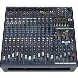 Yamaha EMX5016CF 16-Input Powered Mixer with Dual 500 Watt Power Amps (EMX5016CF)