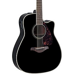 Yamaha FG Series FGX720SCA Acoustic-Electric Guitar (FGX720SCA BL)