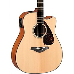 Yamaha FGX700SC Solid Top Cutaway Acoustic-Electric Guitar (FGX700SC)