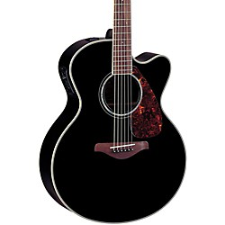 Yamaha FJX730SC Solid Spruce Top Rosewood Acoustic-Electric Guitar (FJX730SC BL)