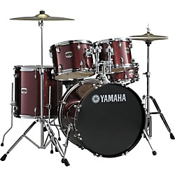 "Yamaha Gigmaker 5-Piece Standard Drum Set with 22"" Bass Drum (GM-2F5BGG)"