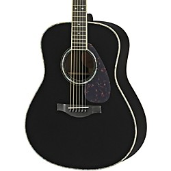 Yamaha LL16DR L Series Solid Rosewood/Spruce Dreadnought Acoustic-Electric Guitar (LL16DRBLHC)