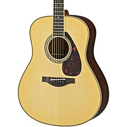 Yamaha LL16R L Series Solid Rosewood/Spruce Dreadnought Acoustic-Electric Guitar (LL16RHC)