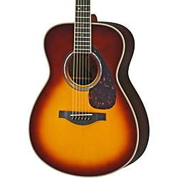Yamaha LS16R L Series Solid Rosewood/Spruce Concert Acoustic-Electric Guitar (LS16RBSHC)