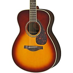 Yamaha LS6R L Series Rosewood/Spruce Concert Acoustic-Electric Guitar (LS6RBSHC)