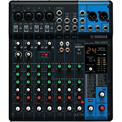 Yamaha MG10XU 10-Channel Mixer with Effects (MG10XU)