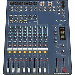 Yamaha MG124C 12-Input Stereo Mixer with Compression (RMG124C)