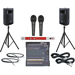 Yamaha MG166CX / MSR400 PA Package with BBE 382i (MG166CXMSR400382i)