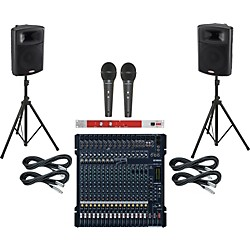 Yamaha MG206C-USB / Harbinger APS15 PA Package with BBE 382i (MG206CAPS15382i)