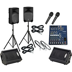 Yamaha MG82CX / TH-12A Mains & Monitors Package (MG82CXTH12AMM)