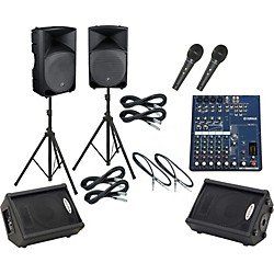 Yamaha MG82CX / Thump TH-15A Mains & Monitors Package (MG82CXTH15AMM)