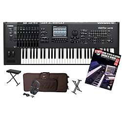 Yamaha MOTIF XF6 61-Key Workstation Package 1 (YAMMOTXF6WP1)