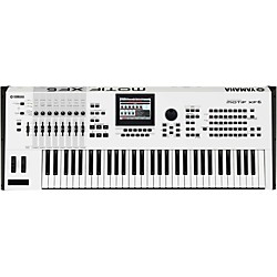 Yamaha Motif XF6 White 61 Key Workstation (MOTIFXF6 WH)