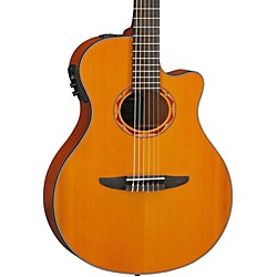 Yamaha NTX700C Classical Thin-line Acoustic-Electric Guitar with Cedar Top (NTX700C)
