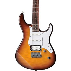 Yamaha PAC212VFM Flame Maple Top Electric Guitar (PAC212VFM TBS)