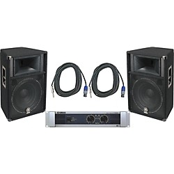 Yamaha S115V/ P5000S Speaker & Amp Package (KIT - 584980)