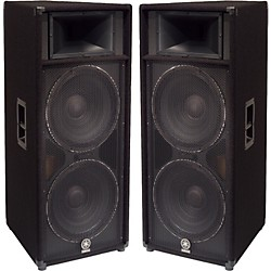 "Yamaha S215V Dual 15"" Club Series V Speaker Pair (KIT773224)"