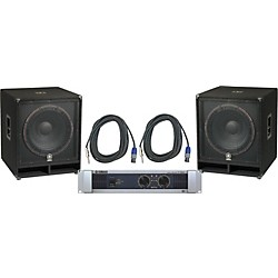Yamaha SW118V/ P7000S Speaker & Amp Package (KIT - 584982)