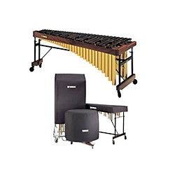 Yamaha YM-4600AC Marimba with Drop Cover (KIT771438)