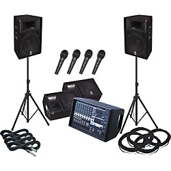 Yamaha Yamaha EMX512SC / S115V PA Package with Monitors (KIT772881)