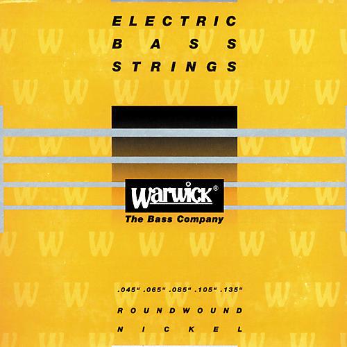 Warwick Yellow Label Nickel Medium 5-String Bass Strings-thumbnail