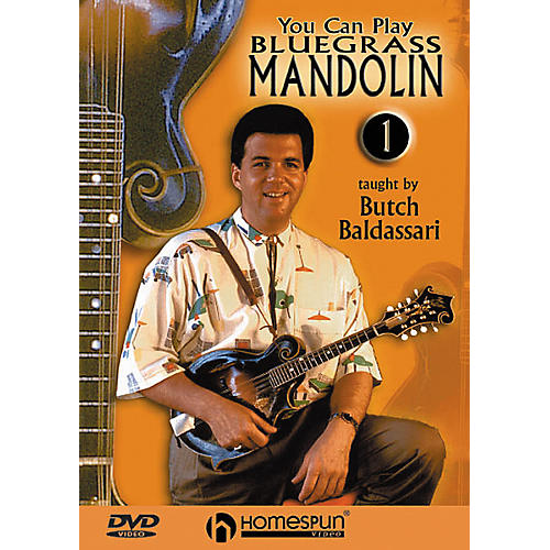 Homespun You Can Play Bluegrass Mandolin 1 (DVD)-thumbnail