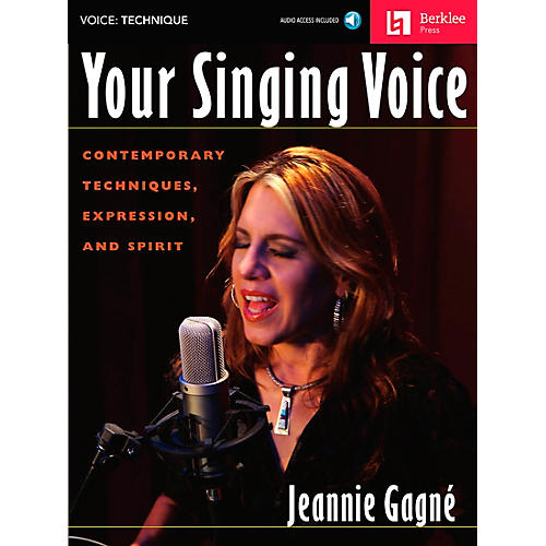 Berklee Press Your Singing Voice - Contemporary Techniques, Expression And Spirit Book/CD-thumbnail