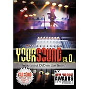 Hal Leonard Your Sound Vol.1 Instructional DVD On Live Sound