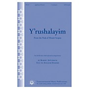 Transcontinental Music Y'rushalayim (From the Peak of Mount Scopus) SATB composed by Robert Applebaum