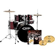 PDP Z5 5-Piece Drumset with Meinl Cymbals