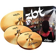 "Zildjian ZBT 3 Starter Bonus Cymbal Pack with Free 14"" Crash"