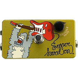 ZVex Hand-Painted Super Hard On Boost Guitar Effects Pedal (SHO-PAINTED)